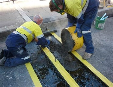 Expansion joint replacement
